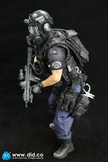 Toyhaven Incoming Did 1 6 Scale Lapd Swat 12 Inch Figure