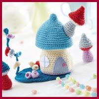 Jardín de hadas a crochet