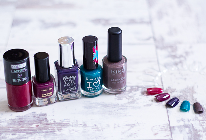 Top 5 Autumn/Fall 2015 Nail Shades