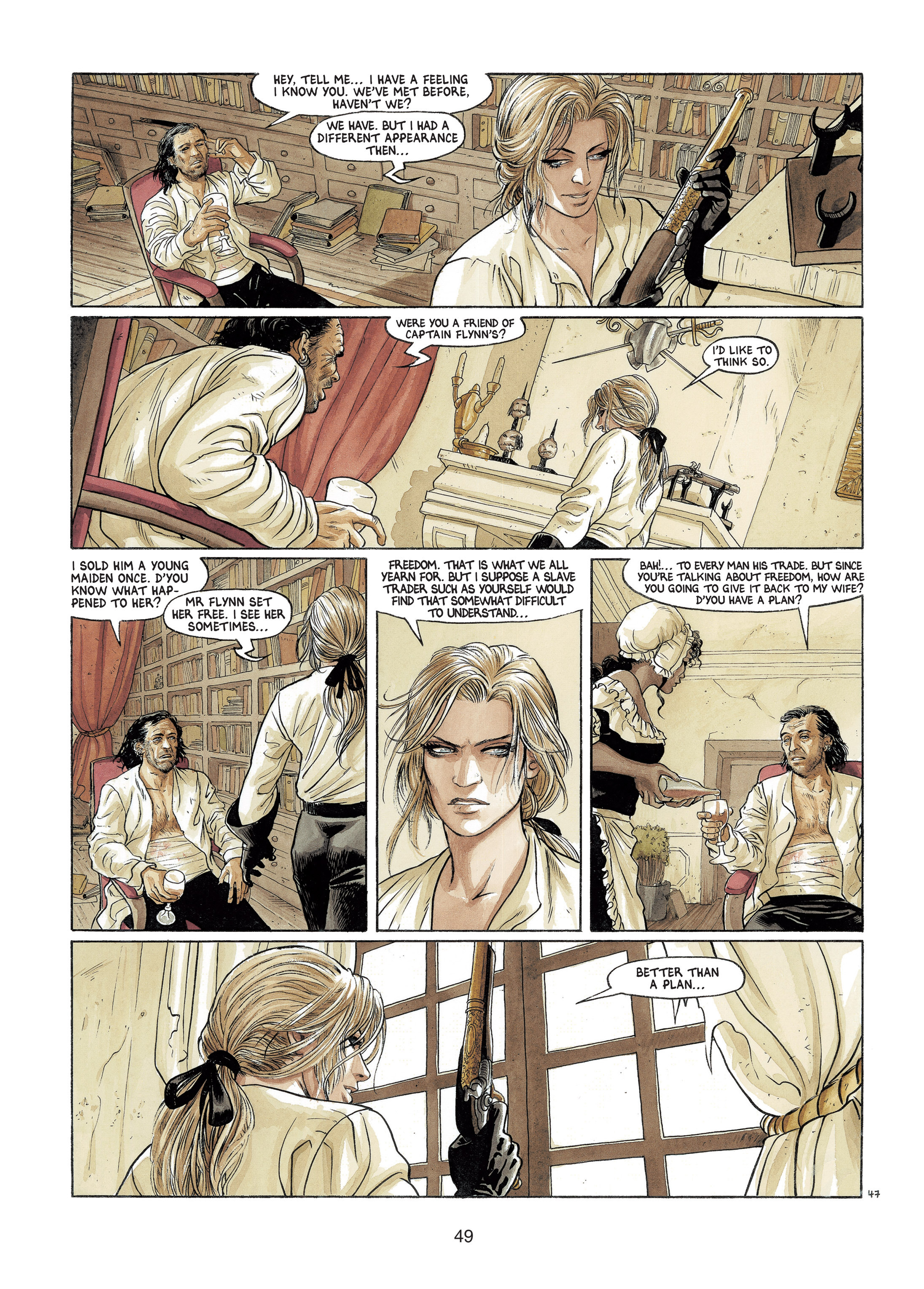 Read online Barracuda comic -  Issue #4 - 50