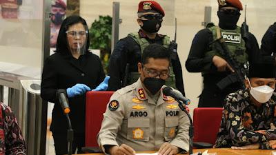 Densus 88 Antiteror Polri Tangkap 53 orang terduga teroris di 11 Provinsi
