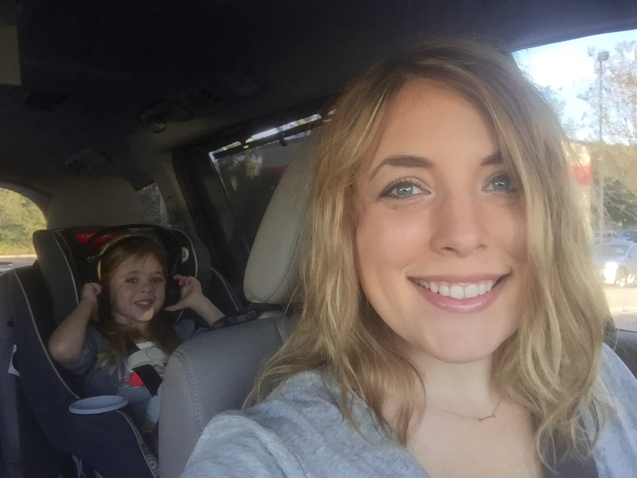 Britt and Mommy's Girl Trip!