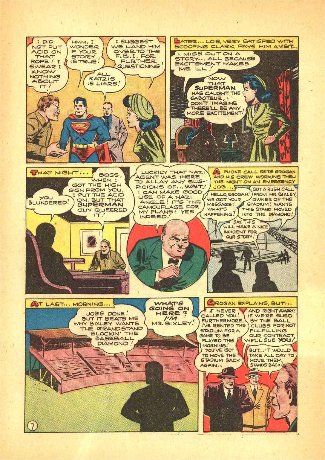 Read online Action Comics (1938) comic -  Issue #72 - 8