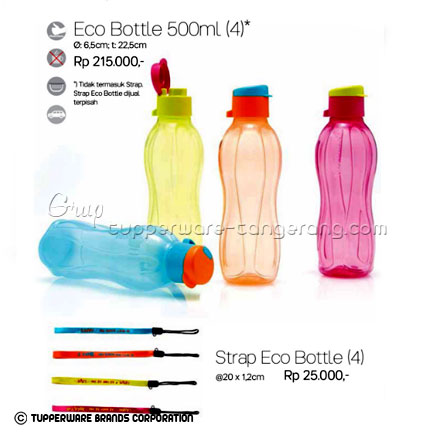 Eco Bottle 500ml ~ Katalog Tupperware Promo Juni 2016