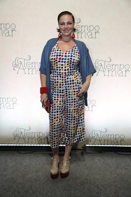 Karine Teles deu vida a Odete em 'Tempo de Amar'