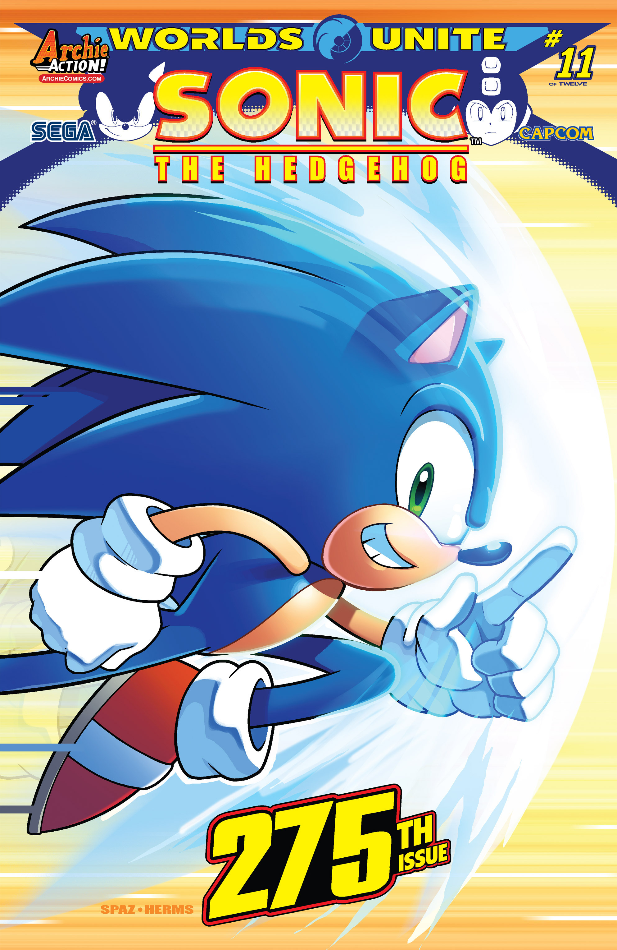 Sonic The Hedgehog (1993) 275 Page 1