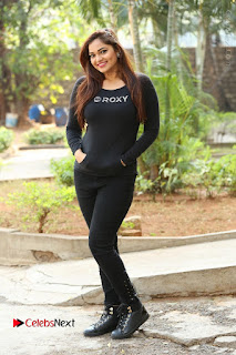 Actress Aswini Latest Stills in Black Denim Jeans  0177.JPG
