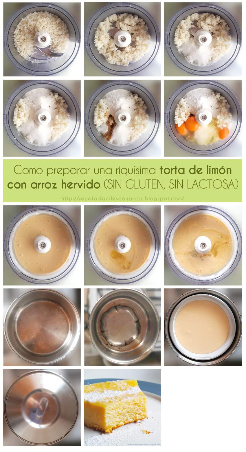 torta de limon sin gluten sin lactosa