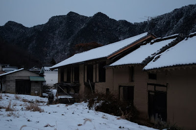 長野県生坂村の古民家カフェ 雪のひとつ石 土蔵