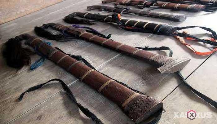 Senjata tradisional Indonesia - Senjata tradisional Sulawesi Tengah (Pasatimpo)