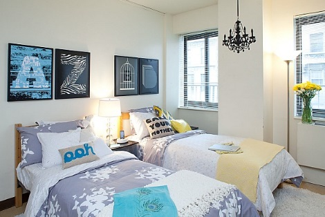 Cute Decorating Ideas For College Girl Dorms Room