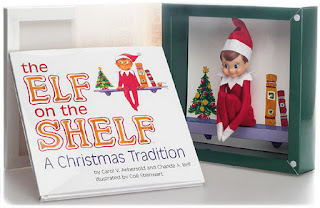 Elf on the Shelf book and doll