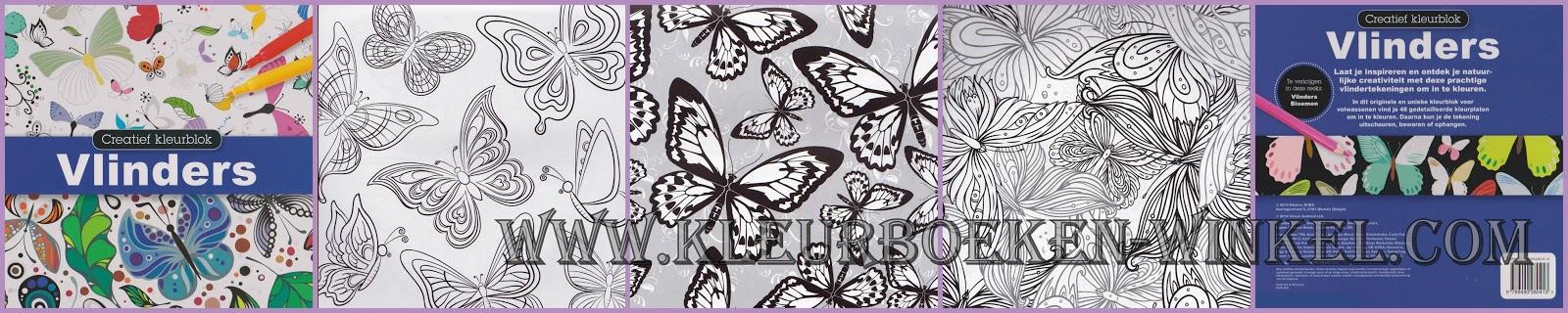 kleurboek vlinders