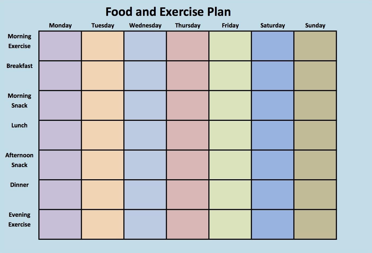 Bizzy Diet Food List