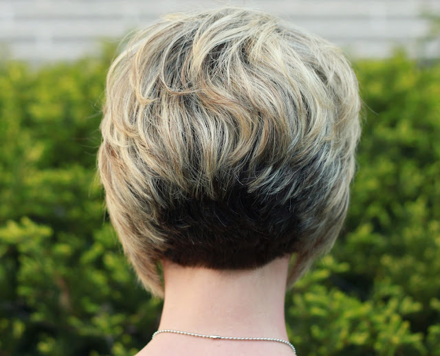 Inverted Bob Hair Styles: My Hair....Your Questions Answered & Styling Tips