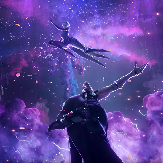 Camille vs Jhin Keague of Legends Awaken Wallpaper Engine