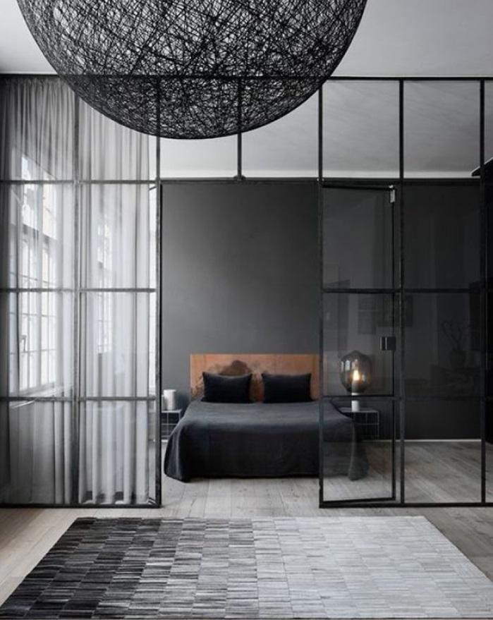pareti di vetro in casa ~ la scelta giusta per il design domestico - Dividere Cucina Dal Soggiorno Con Vetro 2