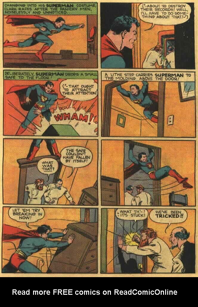 Read online Action Comics (1938) comic -  Issue #26 - 9