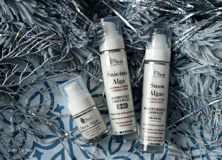 Laboratorium Kosmetyczne AVA Śnieżna Alga - kosmetyki naprawiające efekty starzenia skóry