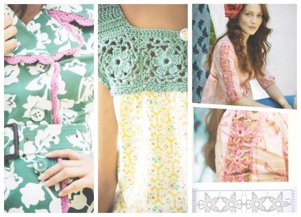 customizar con crochet, transformar ropa, tejer adornos, patrones crochet