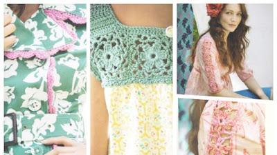 Reinventar tu armario con adornos de crochet