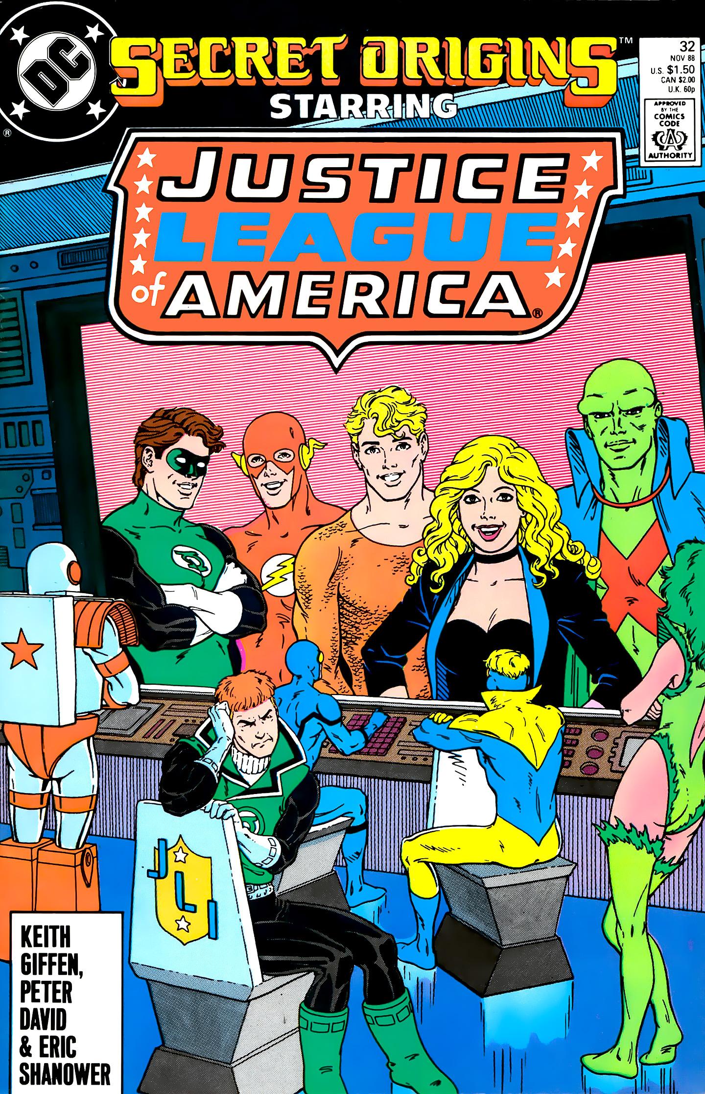 Read online Secret Origins (1986) comic -  Issue #32 - 1