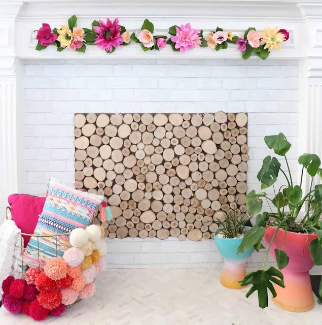 floral garland tutorial