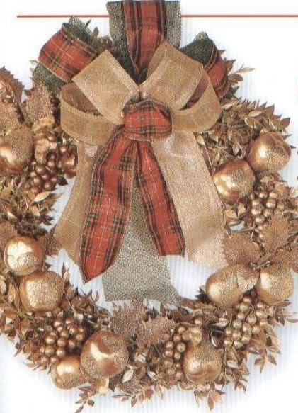 Coronas navide as 2011 for Coronas de navidad hechas a mano