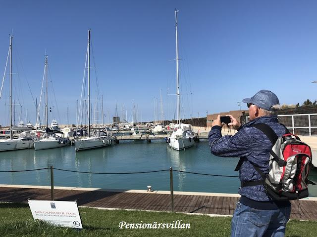 Marina di Pisa och Omnia ugnen