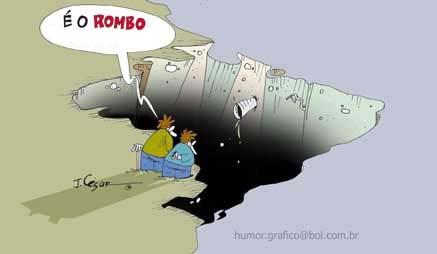 Resultado de imagem para Rombo nas contas do governo