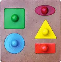 Mainan Unik Puzzle Bentuk Knob