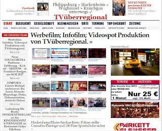 Werbefilm; Infofilm; Videospot Produktion von TVüberregional