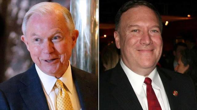 Trump pone a ultraconservadores al mando de CIA y fiscalía general