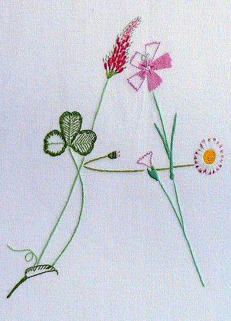 Вышивка гладью тюльпаны фото