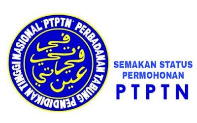 Semakan Status Permohonan PTPTN Online
