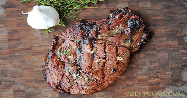Rib-eye Steaks On The Big Green Egg Recipe