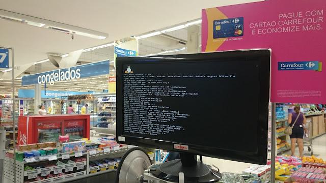 Linux no Carrefour