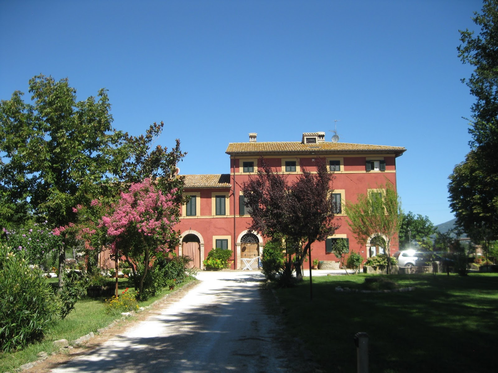 Sette Design Red Italian House Exterior Color