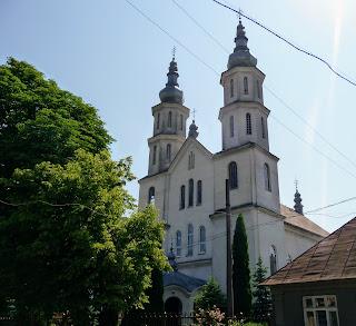Перечин. Церква св. Миколая. УГКЦ. 2003 р.