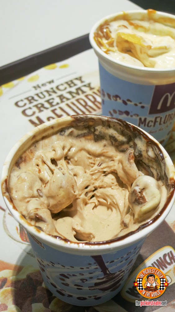 crunchy creamy mcflurry