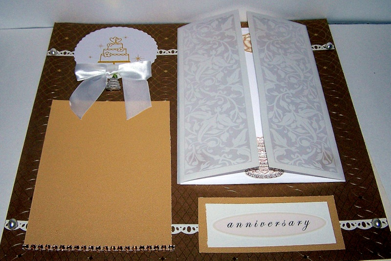 Title2 Page 50th Wedding Anniversary Scrapbook Layout Scrap Aholic