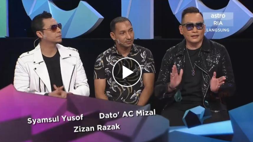 Meletop 22.8.2017 Artis Syamsul yusuf, Zizan Razak ,Ac Mizal