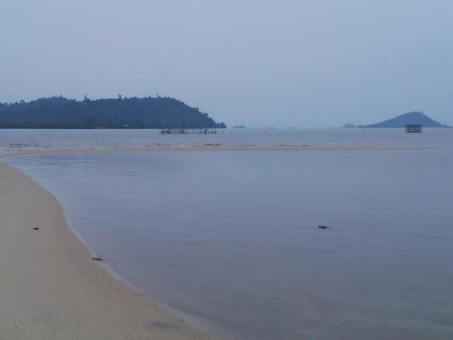 View dari Pantai Setokok Barelang