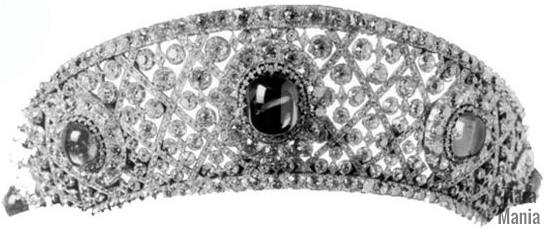 empress maria alexandrovna russia sapphire kokoshnik tiara