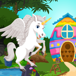 Play Games4King Pegasus Rescue…