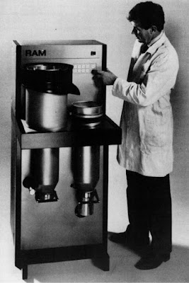 Fig. 1: Rapid Analysis Machine type 300 (Photograph courtesy of the BCA Special Projects group).