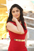 Telugu Actress Zahida Sam Latest Pos in Red Gown at RF Films New Movie Opening  0010.JPG