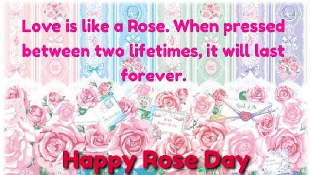 Cute Rose Day SMS, cute valentine rose day sms