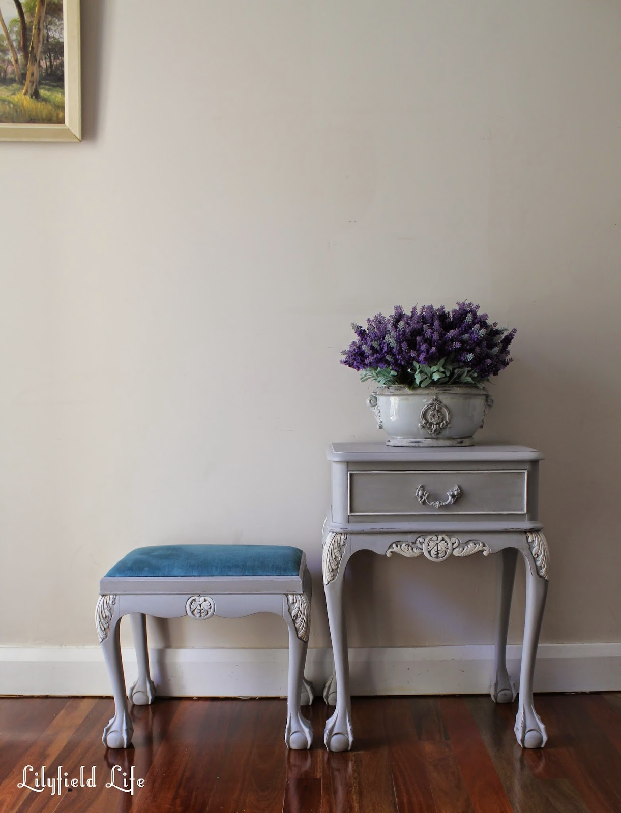 Stool Bedside Table: Lilyfield Life: French Bedside Table And Stool Makeover