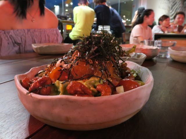poke bowl, Alter Ego at esplanade